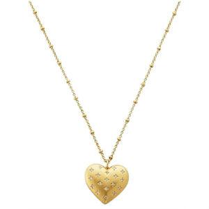 KATE SPADE Precious Gold Heart Locket Necklace